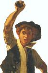 Detail aus 'Die Freiheit führt das Volk an' von Delacroix